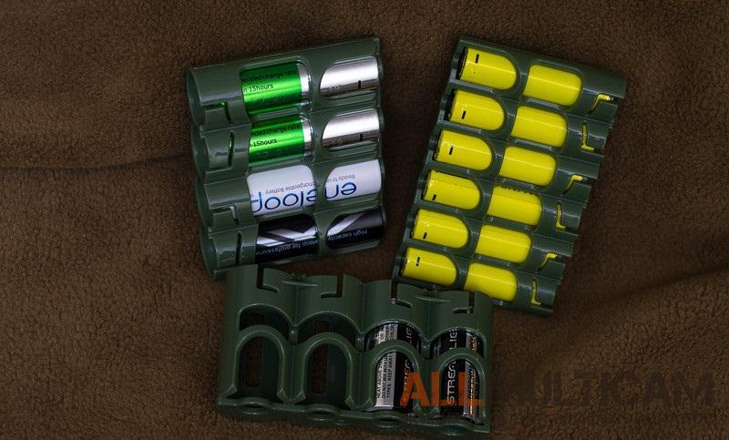 Боксы для батареек и аккумуляторов