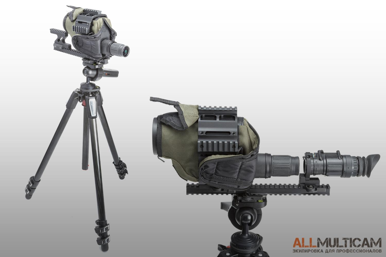 Сборка прицела SPOTR Leupold Mark 4 12-40x60 мм