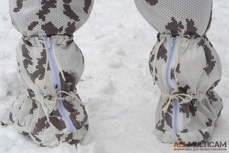 Белый маскировочный халат Мираж 5.45 DESIGN