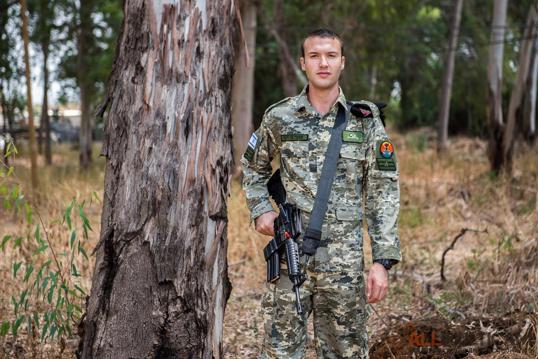 Новый камуфляж израильских сил обороны
