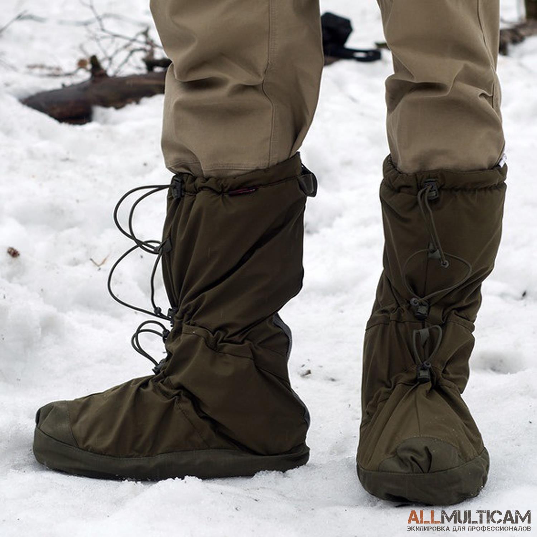 Утепленные чехлы на ботинки