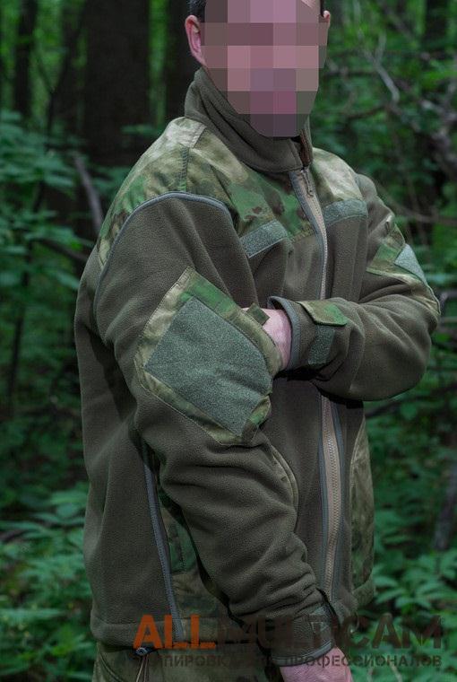 Двусторонняя флисовая куртка OPS Ur-Tactical