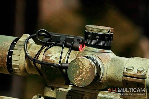 Подсветка барабанчиков снайперского прицела L-1 5.45 DESIGN