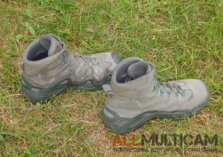 Обзор тактических ботинок Z-6S GTX Lowa