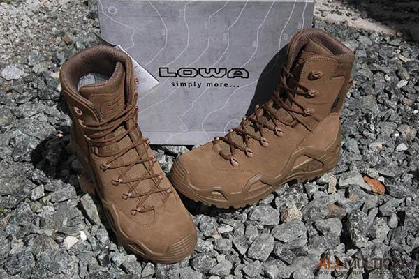 Обзор ботинок Lowa Z-8S