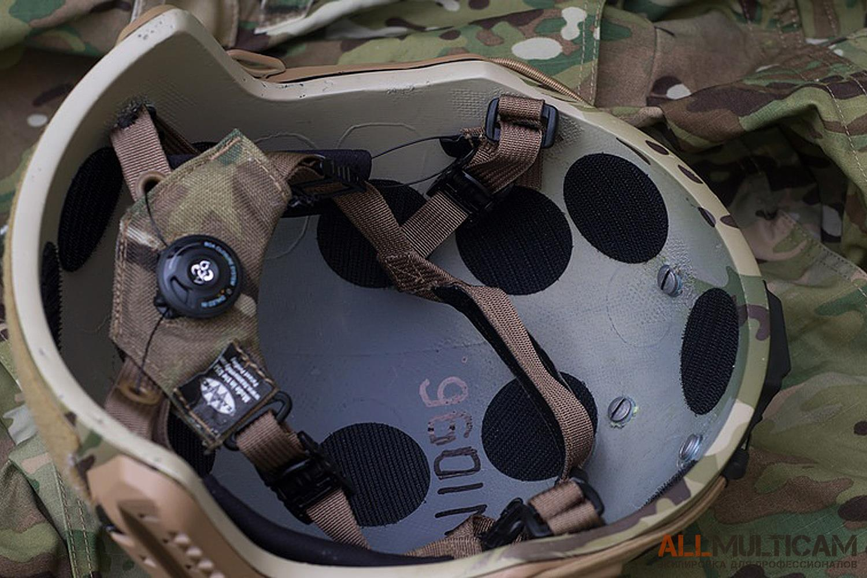 Система подушек в шлеме Спартанец