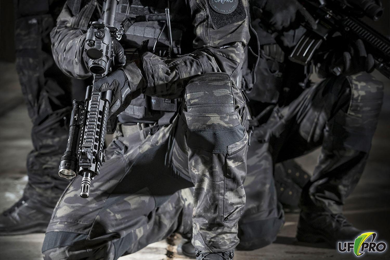 Боевой комплект униформы UF PRO в расцветке MultiCam Black