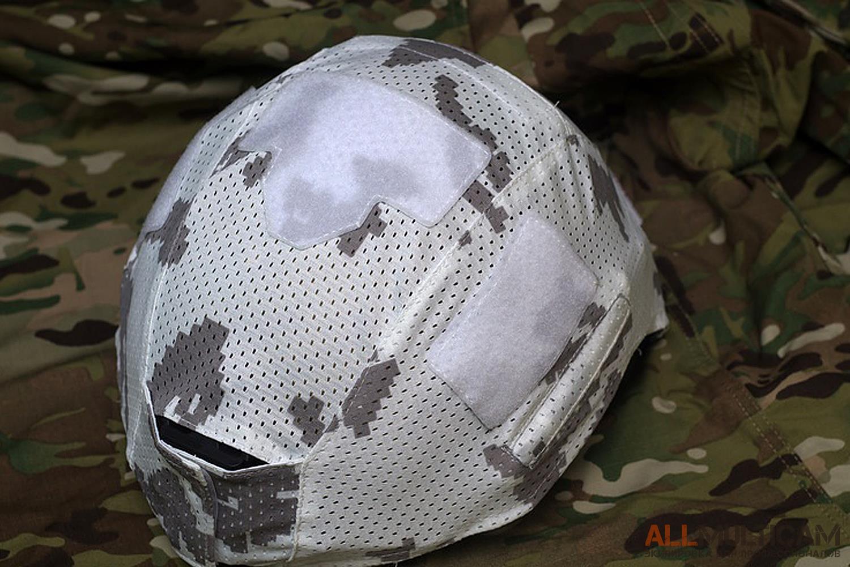 Белый чехол для шлема Спартанец