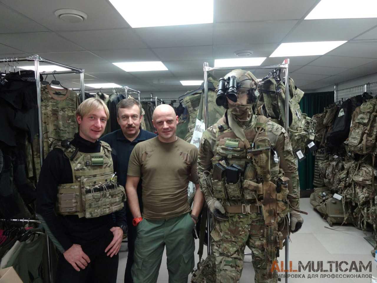 Евгений Плющенко в гостях у ALLMULTICAM