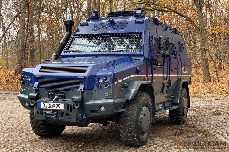 Бронеавтомобиль Survivor R для полиции Берлина