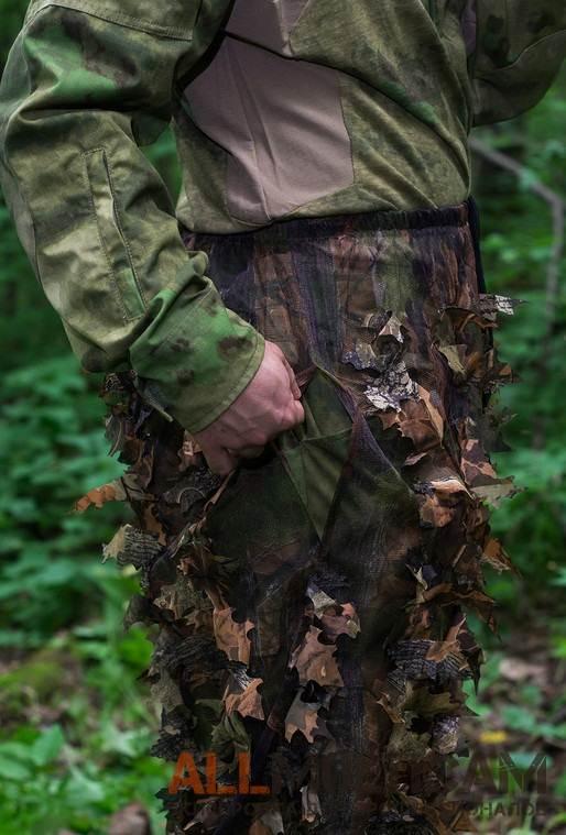 Маскировочные халаты и чехлы для рюкзаков в расцветках весна и осень Jack Pyke LLCS