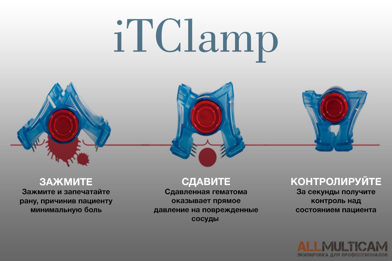 Устройство для остановки кровотечений iTClamp