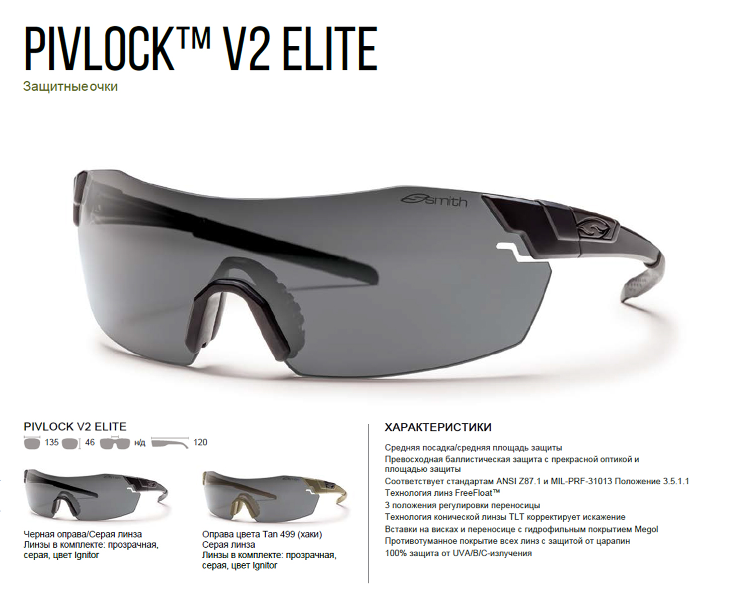 PivLock V2 Smith Optics