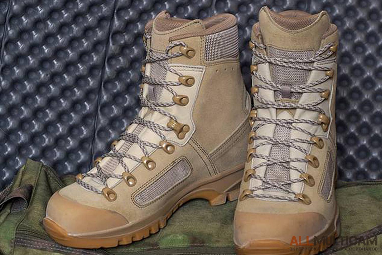 Обзор ботинок Elite Desert Lowa