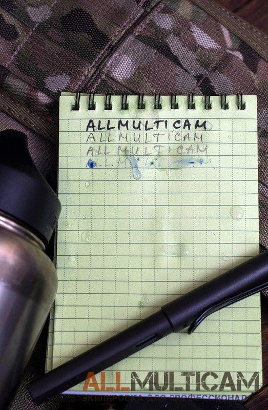 """Тактический водонепроницаемый блокнот """"All Weather Notebook"""" Mil-tec"""