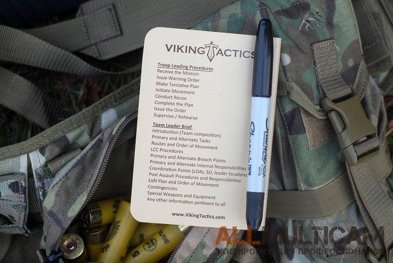 Тактический водонепроницаемый блокнот Rite in the Rain Viking Tactics