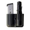 Пластиковый комбинированный подсумок (Фонарь, магазин Глок 17) Blade-Tech