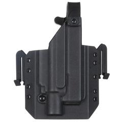 Быстросъёмная кобура Level 1 под Glock 17 с фонарём X400 5.45 DESIGN