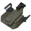 Быстросъёмная кобура Level 1 под Glock 17 с фонарём X400 5.45 DESIGN – фото 6