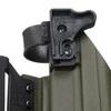 Быстросъёмная кобура Level 1 под Glock 17 с фонарём X400 5.45 DESIGN – фото 8