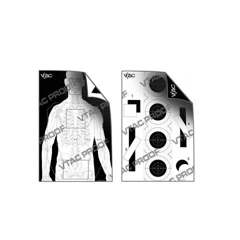 Двухсторонние мишени для стрельбы Viking Tactics – купить с доставкой по цене 139р