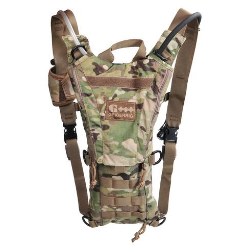 Тактический рюкзак со встроенной гидросистемой на 2 литра Rigger Geigerrig – купить с доставкой по цене 9690руб.