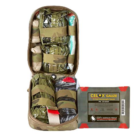 Тактический подсумок с медицинским комплектом MTC Tactical Operator Response Kit North American Rescue – купить с доставкой по цене 25890руб.