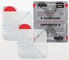 Двойной прозрачный клейкий пластырь с 3-мя каналами для сброса давления (6х6 дюймов) HyFin Vent Chest Seal North American Rescue