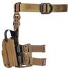 Тактическая пластиковая кобура для Глок 17, Sig Sauer с фонарём WRS Level II Duty Holster w/Tac-light Blade-Tech