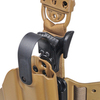 Тактическая пластиковая кобура для Глок 17, Sig Sauer с фонарём WRS Level II Duty Holster w/Tac-light Blade-Tech – фото 3