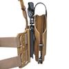 Тактическая пластиковая кобура для Глок 17, Sig Sauer с фонарём WRS Level II Duty Holster w/Tac-light Blade-Tech – фото 5