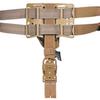 Тактическая пластиковая кобура для Глок 17, Sig Sauer с фонарём WRS Level II Duty Holster w/Tac-light Blade-Tech – фото 6