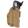 Тактическая пластиковая кобура для Глок 17, Sig Sauer с фонарём WRS Level II Duty Holster w/Tac-light Blade-Tech – фото 9