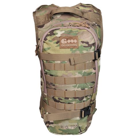 Тактический рюкзак со встроенной гидросистемой на 2 литра RIG 700 Geigerrig – купить с доставкой по цене 12 790р