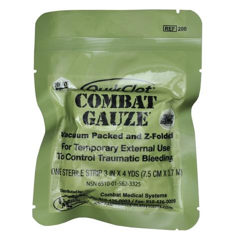 Бандаж марлевый (9см х 3,7м) Combat Gauze – купить с доставкой по цене 4 490 р