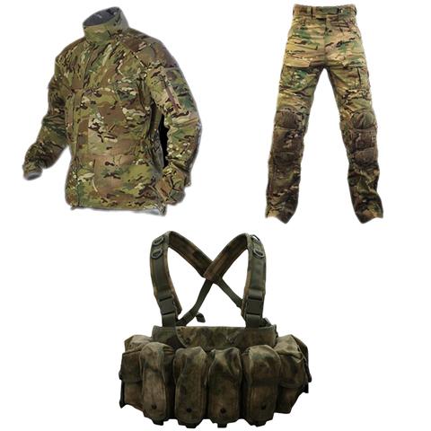 Комплект Tactical Performance. Тактическая куртка TFJ + Тактические штаны = Разгрузочный жилет со скидкой 50% – купить с доставкой по цене 35275руб.