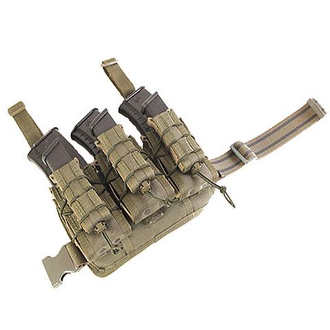 Набедренная панель с тремя подсумками Decker High Speed Gear – купить с доставкой по цене 13990руб.