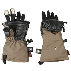 Тактические зимние сенсорные перчатки-рукавицы Heat 3 Smart