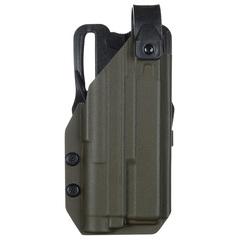 Кобура QDS Level 1 под Glock 17 с фонарём Зенит