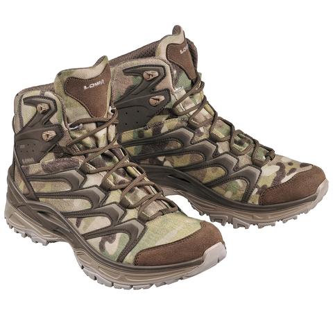 Облегченные тактические ботинки Innox Mid TF GTX Lowa – купить с доставкой по цене 14 590р
