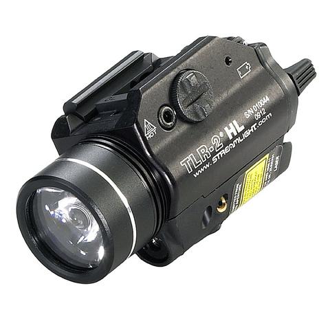 Тактический фонарь с лазерным целеуказателем TLR-2 HL StreamLight – купить с доставкой по цене 44 900р