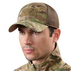 Тактическая кепка MultiCam с сеткой меш Condor