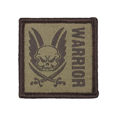 Патч Warrior (Воин) коричневый – купить с доставкой по цене 425р