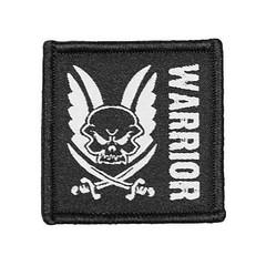 Патч Warrior (Войн) черный