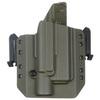Быстросъёмная кобура под Glock 17 с фонарём X300 5.45 DESIGN – фото 2