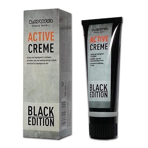 Черный крем для обуви Active Creme Lowa – купить с доставкой по цене 760руб.