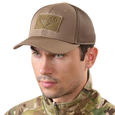 Тактическая кепка с сеткой меш Condor – купить с доставкой по цене 1090руб.