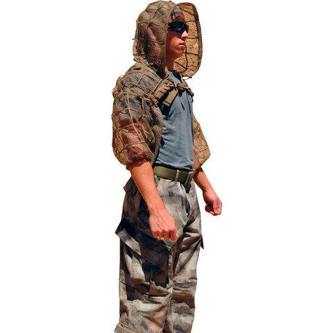 Маскировочная сетка-халат A-Tacs FG Super Viper Tactical Concealment – купить с доставкой по цене 25990руб.