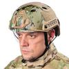 Пластиковый шлем с визором - реплика карбонового Ops-Core – фото 3
