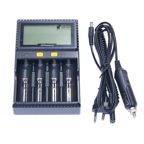 Универсальное зарядное устройство на 4 аккумулятора AV Power – купить с доставкой по цене 3 300 р